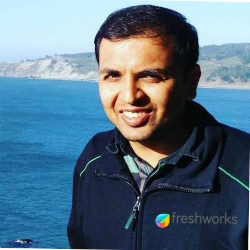 Srikrishnan Ganesan, Product Head for Freshchat (image credit Linkedin)