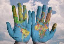 Hands World Cloud (Image credit Pixabay/Stokpic)
