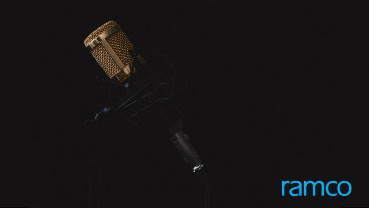 Microphone/Ramco - Image credit Pixabay/lincerta & Ramco