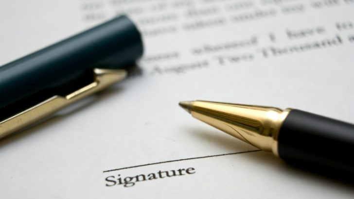 To sign a contract Image credit FReeimages.com/shho