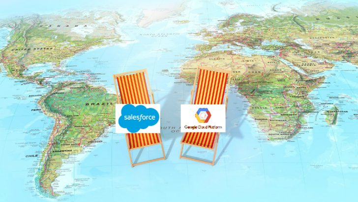 Salesforce and Google enter strategic partnership