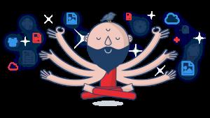 meditating-malcolm (Image credit Method Grid)
