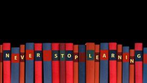 Books adult education Image credit pixabay/geralt