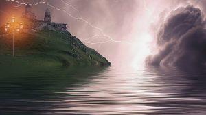 Lightning castle Image credit Pixabay/Darksouls1
