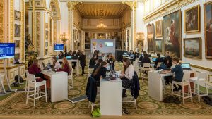 2017 CyberFirst finalists at Lancaster House