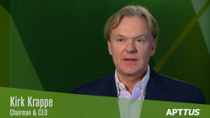 Kirk Krapper Co-Founder, CEO and Chairman of Apttus (Image credit Apttus/YouTube)