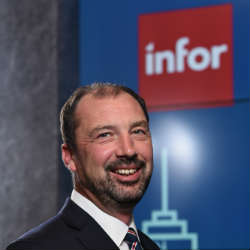 Phil Lewis, Vice President, Solution Consulting EMEA at Infor (Image source Infor)