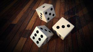 Dice gambling IMage credit pixabay.com/PIRO4D