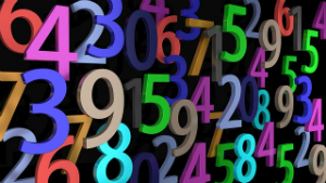 numbers - Image Source: Pixabay Free Images