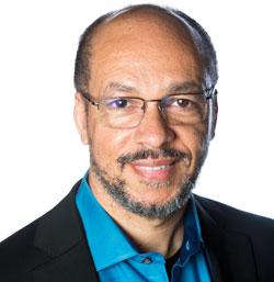 Hugh Njemanze, CEO of Anomali