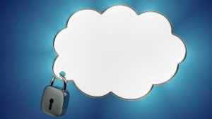 Secured cloud - Image credit Pixabay