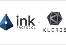 Ink sign up Kleros for dispute resolution