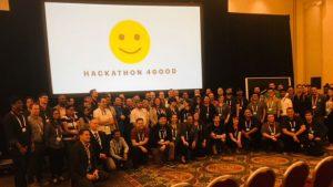 Hackathon 4Good contestants and Judges (Image credit: S Brooks)