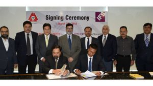 Millat Equipment Limited official signing with IFS (Image credit Millat Equipment Limited (MEL)