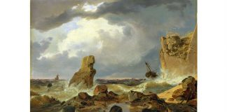 andreas achenbach painting ship rocks https://pixabay.com/en/andreas-achenbach-painting-art-91572/ (Imagecredit uploads to Pixabay by 12019