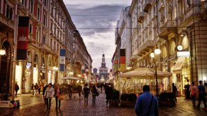 City centre Milan Image credit Pixabay/Igor Saveliev