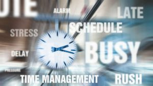 hurry time management Image credit TeroVesalainen