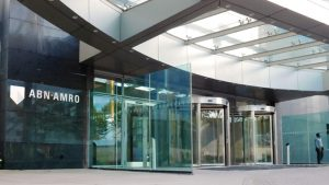 ABN AMRO Head Office entrance