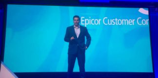 (c) 2018 S Brooks Steve Murphy, CEO Epicor - On stage at Insights 18