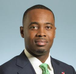 Premier Edward David Burt, Bermuda