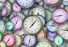 Time Clocks (c) 2018 Image credit Pixabay/Geralt