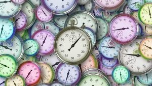 Time Clocks (c) 2018 Image credit Pixabay/Geralt