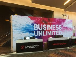 Community Live 2018 message is Business Unlimited (image credit S Brooks)