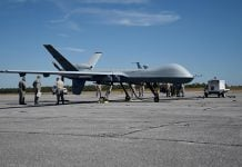 MQ-9 Reaper documents for sale on Dark Web