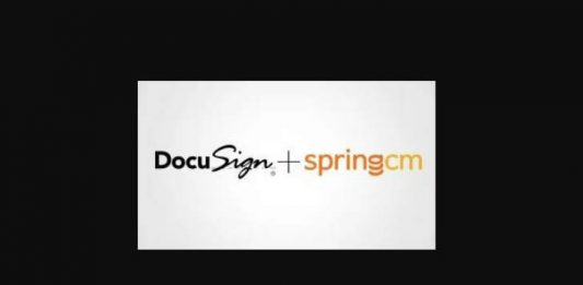 Docusign and SpringCM Image credit Docusign