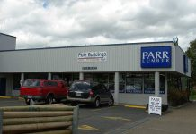 Parr Lumber store in Forest Grove, Oregon. By M.O. Stevens [Public domain], from Wikimedia Commons
