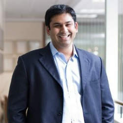 Roshen Menon, Managing Partner at Guidepost Growth Equity (Image credit LinkedIN)