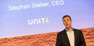 Stephan Sieber at Unit Connect, Amsterdam (c) 2018 Unit 4