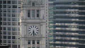Chicago clock Image credit Pixabay/Nicole288