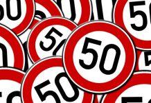 Road sign fifty image credit Pixabay/geralt