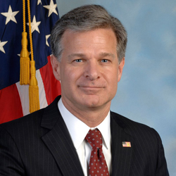 Christopher A Wray, Director, FBI
