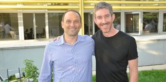 OpsGenie CEO Berkay Mollamustafaoglu and Atlassian Co CEO Scott Farquhar