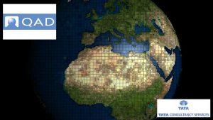 Globe QAD TCS Image credit PIxabay/geralt, QAD and TCS