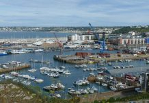 St Helier port, Jersey IMage credit pixabay/falco