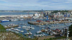 St Helier port, Jersey IMage credit pixabay/falco