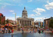 Nottingham Town Hall Image credit Pixabay/KirstieCoolin