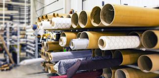 rolls of fabric Image credit pixabay/mploscar