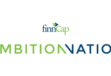 Ambition Nation event logo (image credit finnCap Ltd)