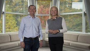 Ginni Rometty, Chairman, President, and CEO of IBM and James M. Whitehurst, CEO of Red Hat