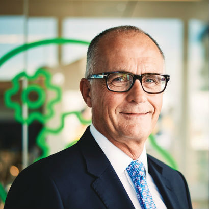 Steve Hare, Group CEO Sage Group PLC (Image credit Sage Group PLC)