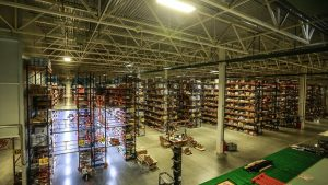 Beru's Moscow fulfillment centre (Source Yandex)