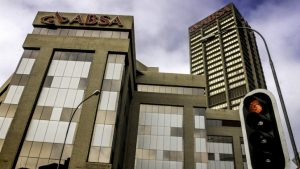 "Absa HQ in Johannesburg South Africa Photo via <a href=""https://www.goodfreephotos.com/"">Good Free Photos</a>"