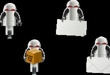 Robot mail, Image credit pixabay/Clker-free-vector-images