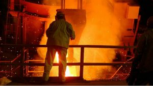 Steel Mill, Image credit pixabay/skeeze