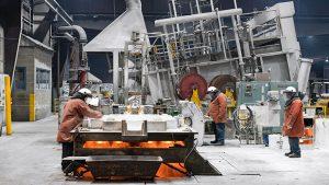 Casting Aluminium at Norsk Hydro