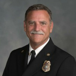 Chip Hickman, Fire Chief, Montecito